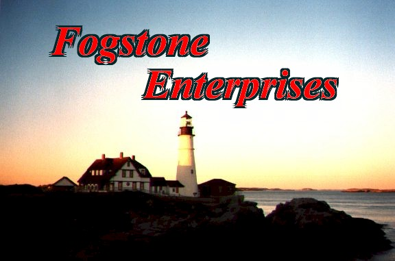 Fogstone Enterprises provides software and Internet development from cozy Maine.  Specializing in deliverying unusual technologies to the public through compnaies such as digital astronomy with Blueberry Pond Observatory, and strategy games with Fogstone Games