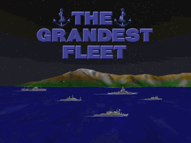 Grandest Fleet Opening Screen from this classic QQP strategy turn based game created with Thurston Searfoss and Fogstone Games